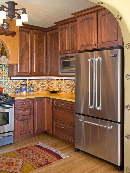 Spanish Kitchen Tile Home Design Ideas Pictures Remodel