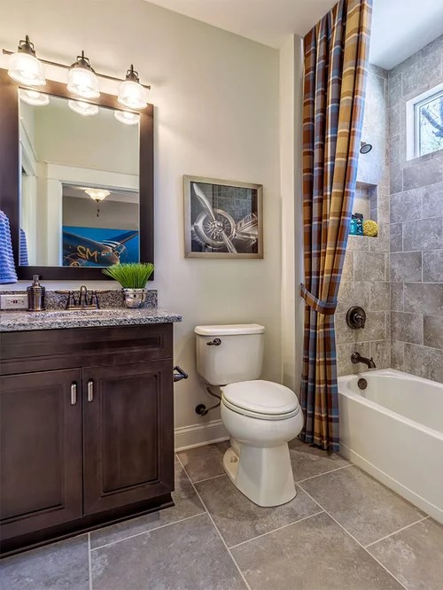 Traditional Bathroom Design Ideas, Remodels & Photos with ... on Model Toilet Design  id=12358