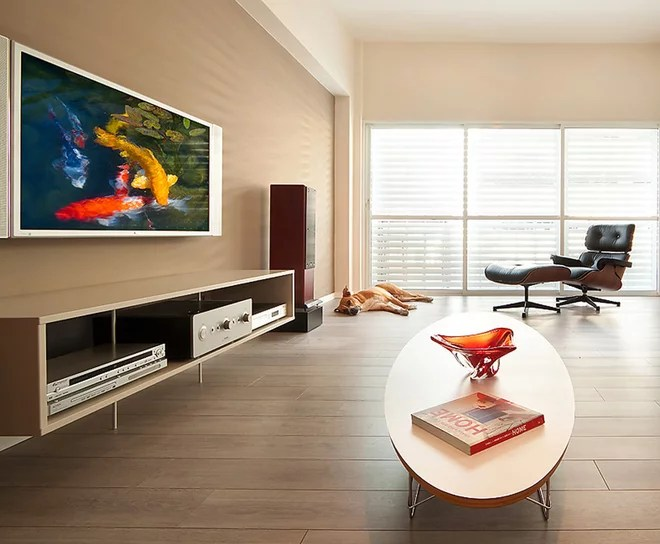 Modern Living Room by Elad Gonen