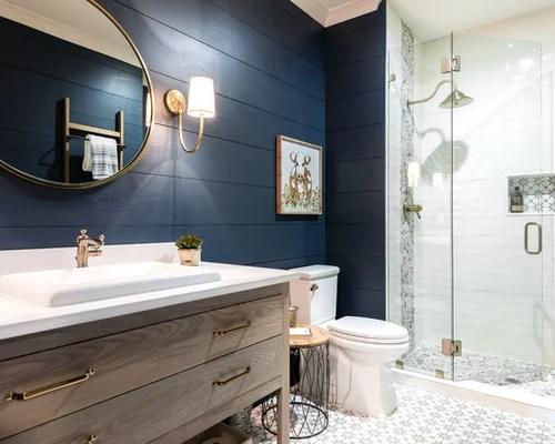 Best 25 Farmhouse Bathroom Ideas & Decoration Pictures | Houzz on Farmhouse Shower Ideas  id=98440