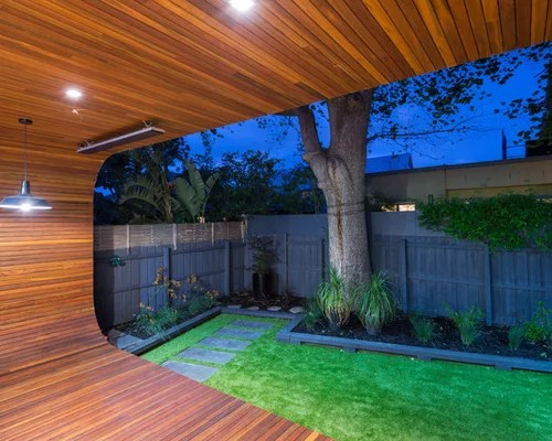 Small Modern Backyard | Houzz on Modern Landscaping Ideas For Small Backyards  id=99900