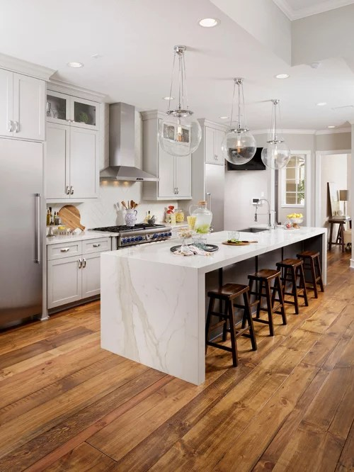 L Shaped Kitchen Design Island