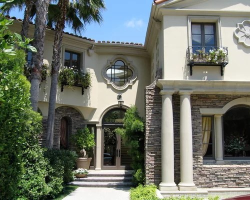 Stacked Stone Exterior Home Design Ideas Pictures