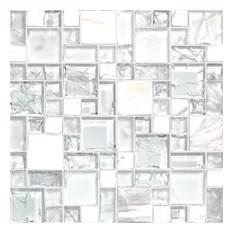 50 most popular crackle mosaic tile for