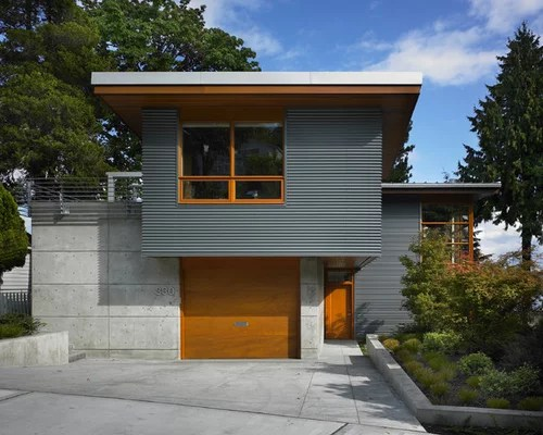 Metal Siding Ideas, Pictures, Remodel and Decor on Modern House Siding Ideas  id=17556