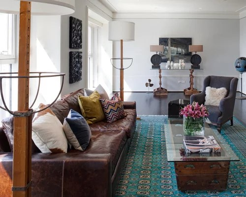 1000 Ideas About Leather Living Rooms On Pinterest Sofa Room