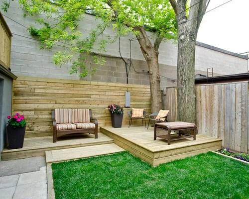 Small Backyard Deck Ideas | Houzz on Small Yard Deck id=89598
