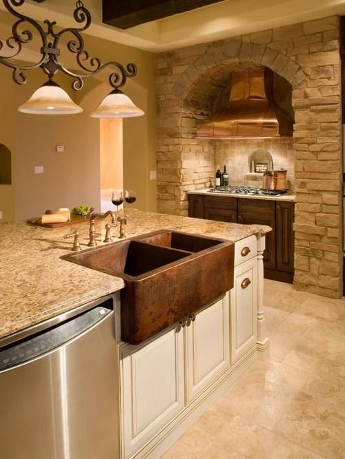 Tuscan Style Kitchen Houzz