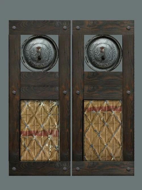 Custom Swinging Saloon Doors