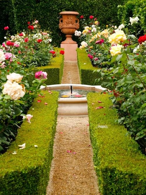 Garden Fountain Home Design Ideas, Pictures, Remodel and Decor on Home Garden Fountain Design id=35562