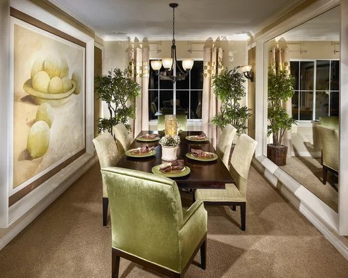 Narrow Dining Room Home Design Ideas, Pictures, Remodel