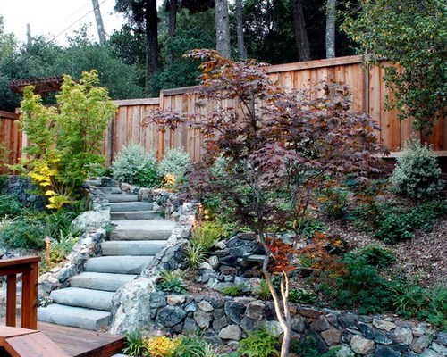 Uphill Landscape Design Ideas & Remodel Pictures | Houzz on Uphill Backyard Ideas  id=60026