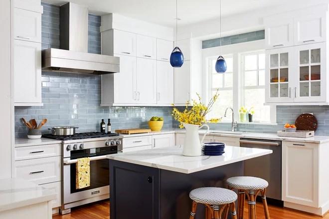 Transitional Kitchen by WINN Design+Build