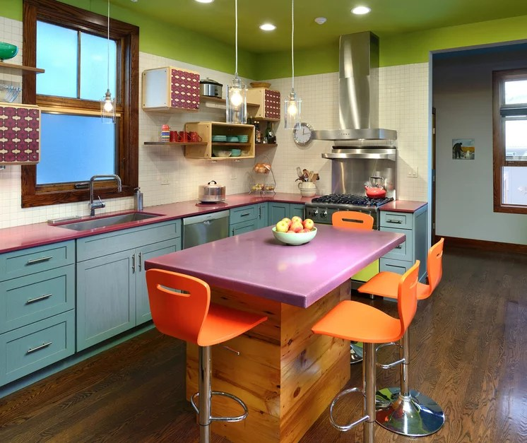 Eclectic Kitchen by Michael Lipman Photography