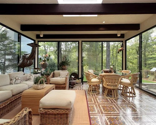 Enclosed Patio Room   Houzz on Houzz Backyard Patios  id=73527