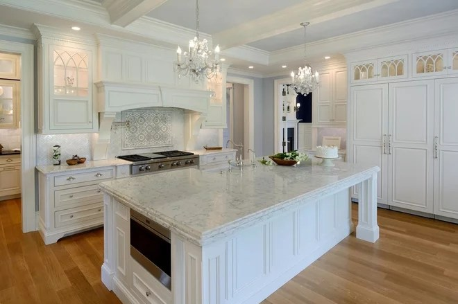 Shabby-chic Style Kitchen by Vartanian Custom Cabinets