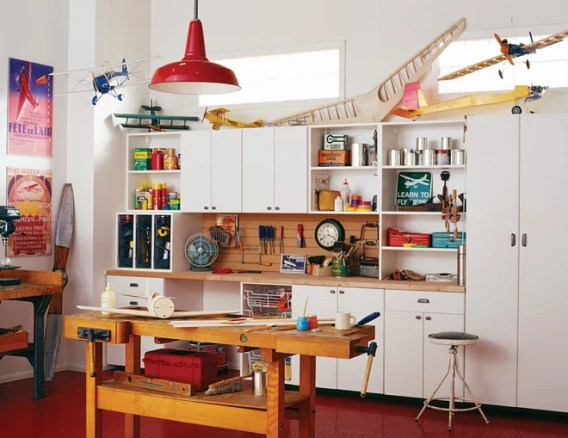 Transitional Garage by California Closets HQ