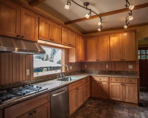 Natural Maple Shaker Cabinets | Houzz on Natural Maple Cabinets  id=91428