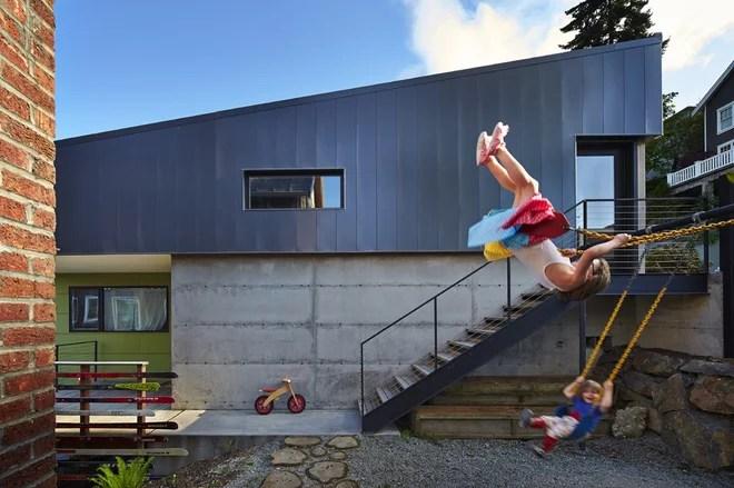 Modern Garage by chadbourne + doss architects