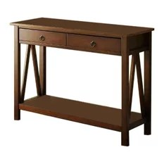 Linon Titian Console Table Antique