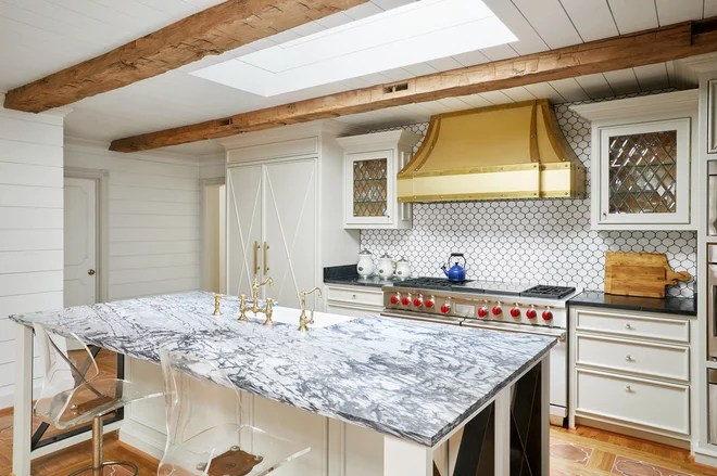 Eclectic Kitchen by Huseby Homes