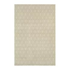 Ellerson 8021i Ivory Contemporary Rug 9'10x12'10