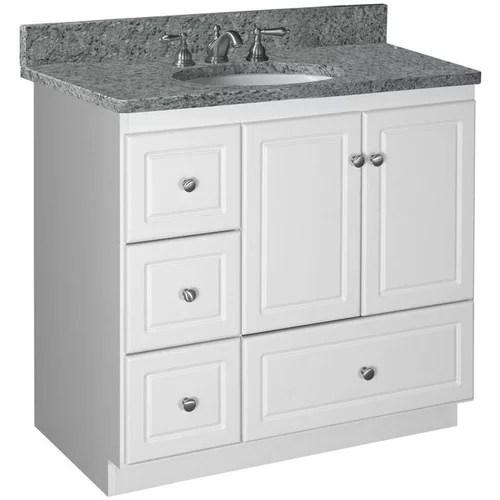 strasser simplicity 30 inch bath vanity