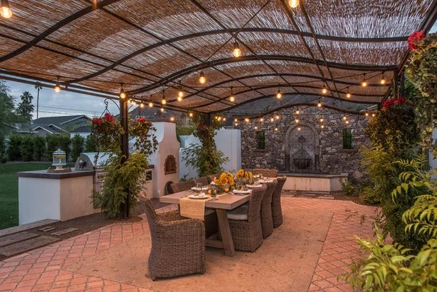 Trending Now: Cool Off With 10 Patios That Keep ... on Small Mediterranean Patio Ideas id=58591