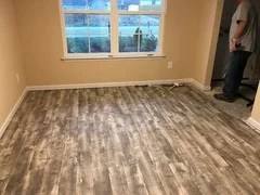 Home Decorators Collection vinyl plank flooring from Home Depot  Travis Congleton