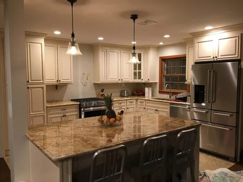 kitchen backsplash for ivory cabinets