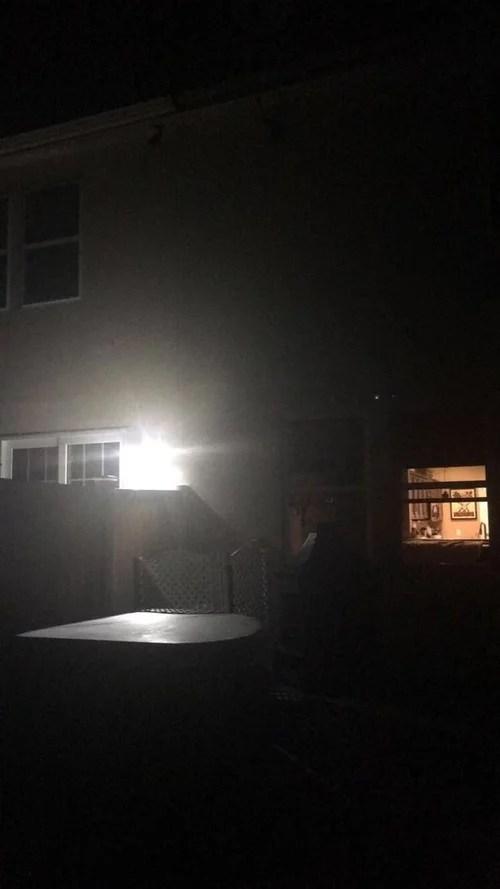 need to block a flood light