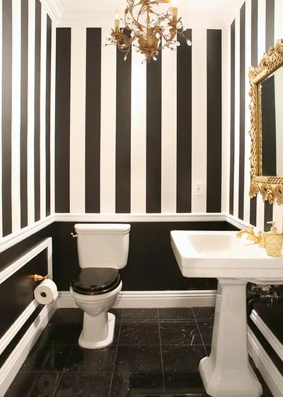 Traditional Powder Room 1644 Residence