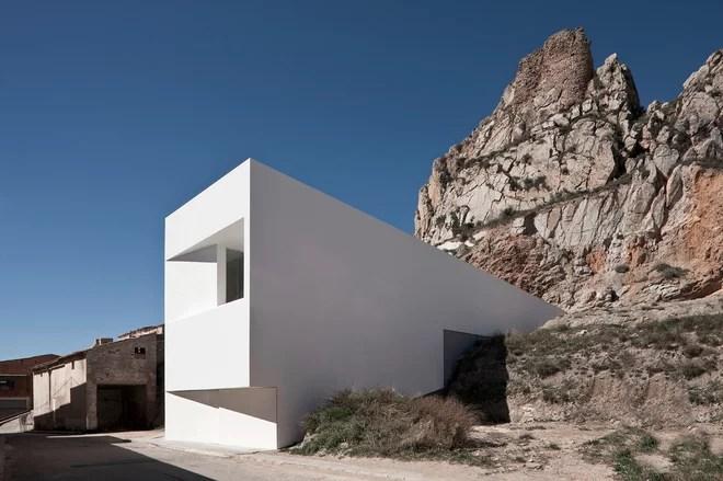 Contemporáneo Fachada by Fran Silvestre Arquitectos