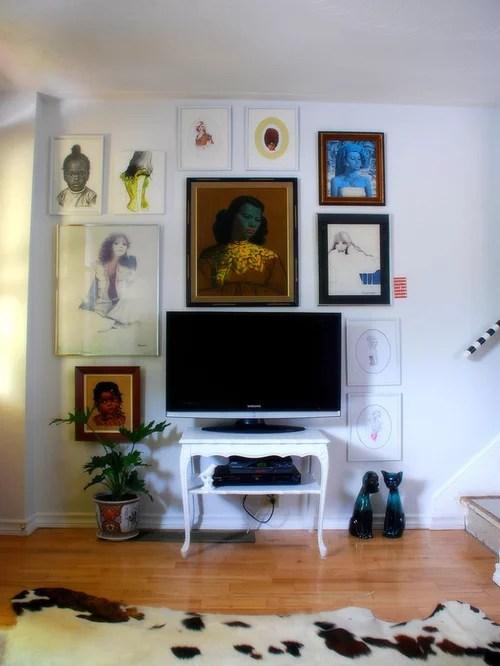 Decorative Flat Screen Tv Covers 4