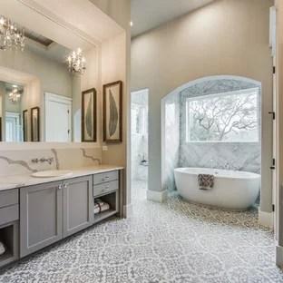 75 Most Popular Farmhouse Bathroom Design Ideas for 2019 ... on Farmhouse Tile Bathroom Floor  id=36831