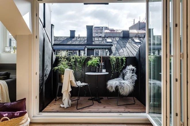 Scandinavian Balcony by Alexander White