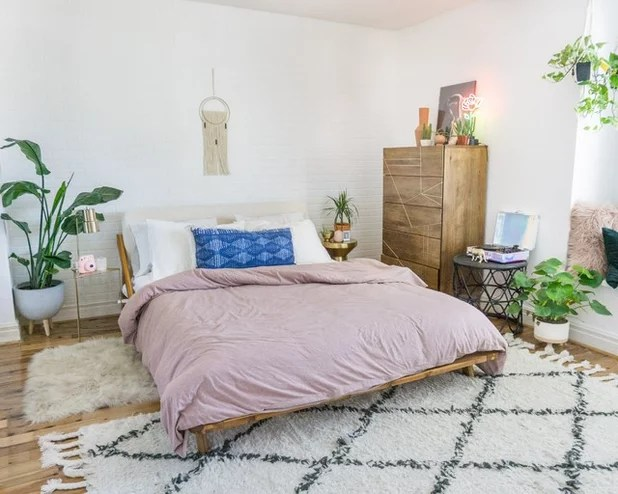 New This Week: 3 Totally Chill Modern Boho Bedrooms on Boho Modern Bedroom  id=87759