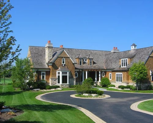 Half Circle Driveway Home Design Ideas, Pictures, Remodel