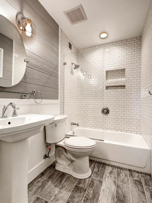 Small Modern Bathroom Design Ideas, Renovations & Photos on Modern Small Bathroom  id=41378