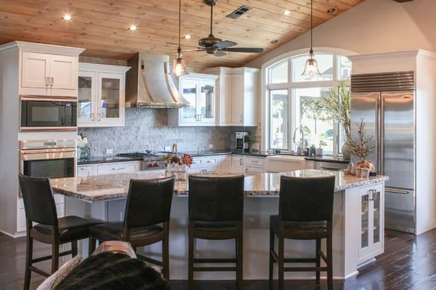 My Houzz Warm And Airy Kitchen Update For A 1980s Ranch House