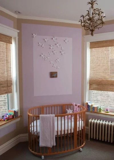 Traditional Nursery by Paul Schulman Design