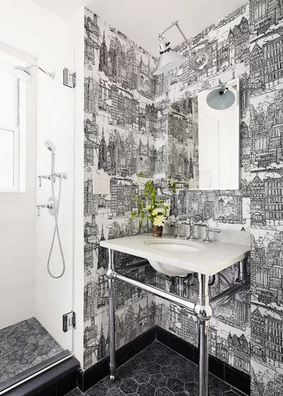 Transitional Bathroom by McGrath II