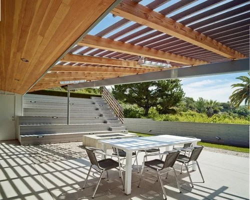 Midcentury Patio Design Ideas, Remodels & Photos | Houzz on Mid Century Modern Patio Ideas id=15365