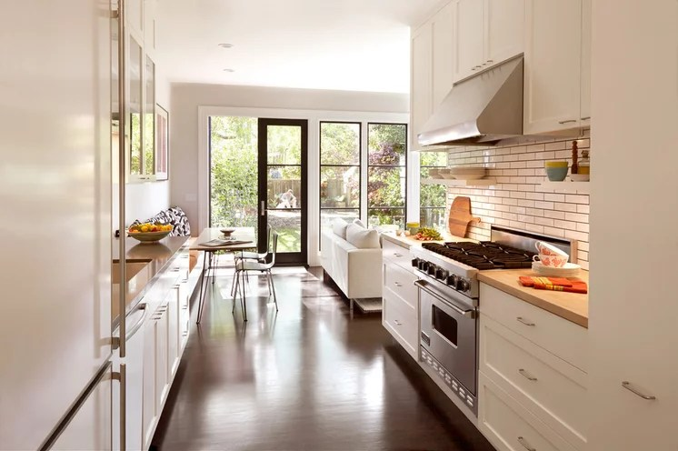 Transitional Kitchen by Jeff King & Company