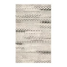 Safavieh Retro-Style Rug Cream and Gray 5'x8'
