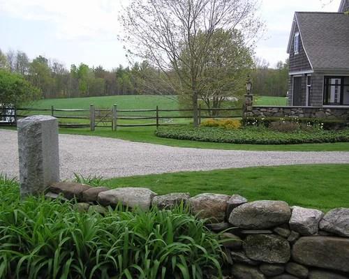 Farmhouse Front Yard Landscape Ideas, Designs, Remodels ... on Farmhouse Yard Ideas id=56703
