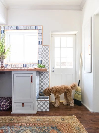 Traditional Laundry Room by STEFANI STEIN