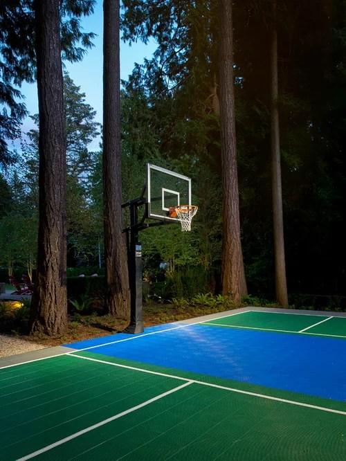 Best Outdoor Basketball Court Design Ideas Amp Remodel