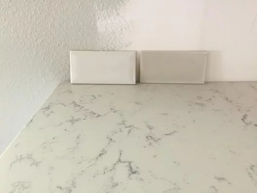 grey or white crackle tile for kitchen