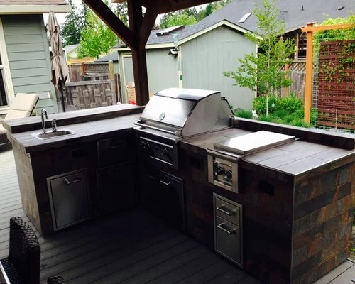Complete outdoor kitchen area custom created by Sunset ... on Complete Outdoor Living id=88960